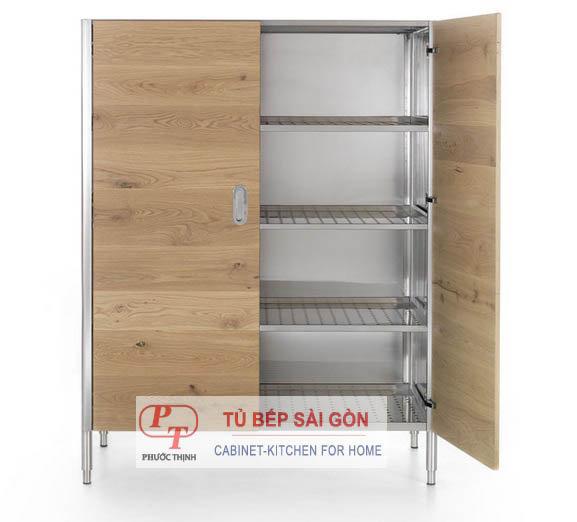 tủ đựng bát đĩa bằng gỗ Chuyên sản xuất các loại tủ inox đựng đồ đa dạng chuẩn loại tủ đựng bát đĩa bằng gỗ